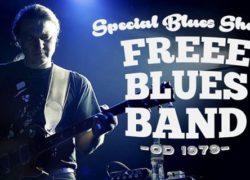 koncert Free Blues Band w Szczecinie
