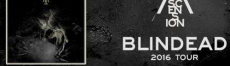 22.10.2016 koncert Blindead Ascension 2016 Tour Szczecin