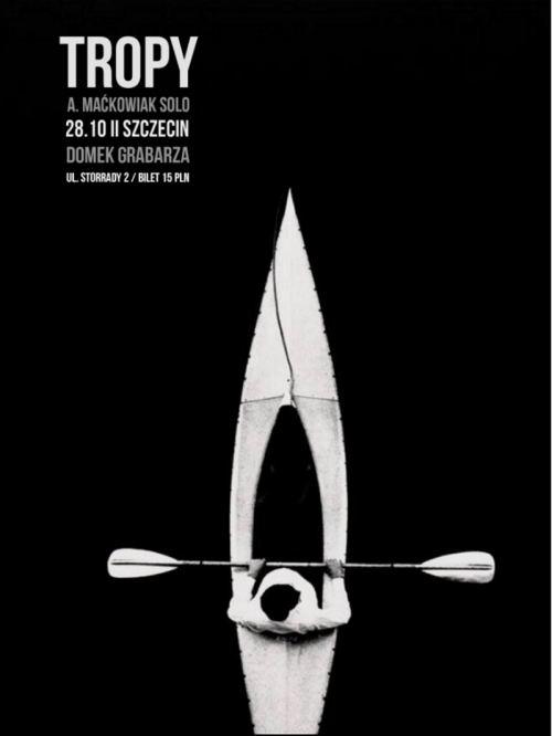 ARCHIWUM. Szczecin. Koncerty. 28.10.2016. Tropy + A. Maćkowiak solo @ Domek Grabarza