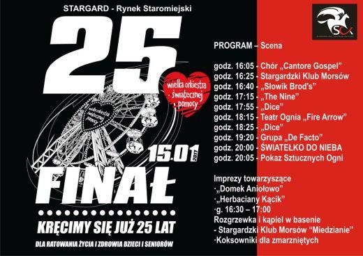 WOŚP 2017 Wielka Orkiestra Świątecznej Pomocy Stargard