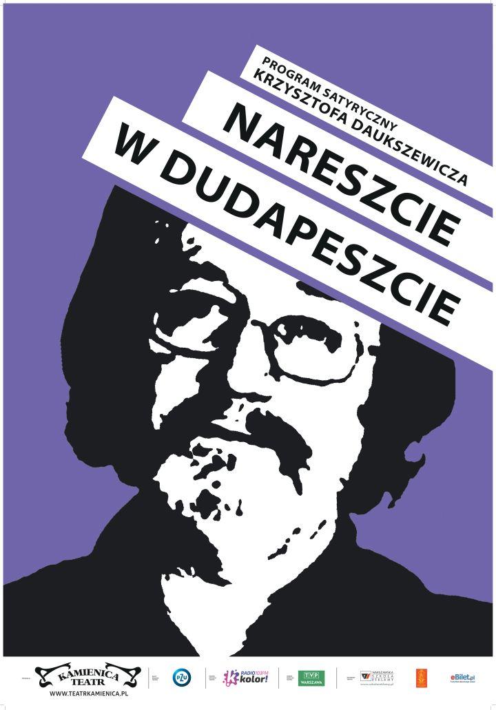 """ARCHIWUM. POLECAMY! Szczecin. Wydarzenia. 26.03.2017. Krzysztof Daukszewicz """"Nareszcie w Dudapeszcie"""" @ Teatr Polski"""