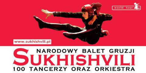 """Narodowy Balet Gruzji """"Sukhishvili"""" w Szczecinie"""