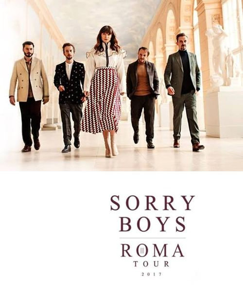 2017 koncert Sorry Boys ROMA Tour w Szczecinie