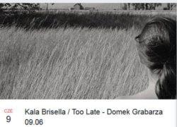 09.06.2017 koncert Kala Brisella + Too Late w Szczecinie
