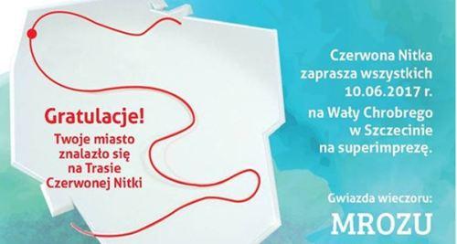 10.06.2017 piknik rodzinny Czerwona Nitka, Wały Chrobrego w Szczecinie