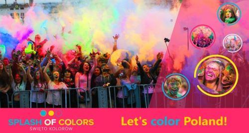 Festiwal kolorów - Splash of Colors Szczecin