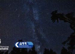 perseidy, obserwacja spadających gwiazd w Szczecinie