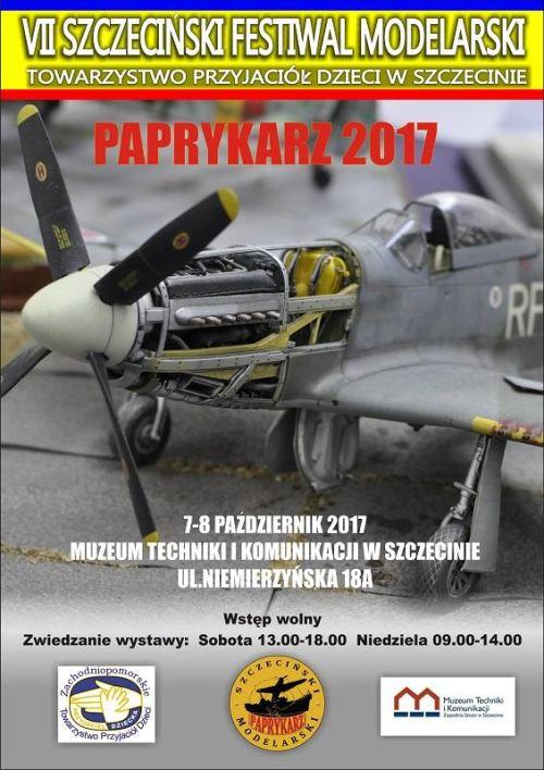 7-8.10.2017 Szczeciński Festiwal Modelarski Paprykarz 2017