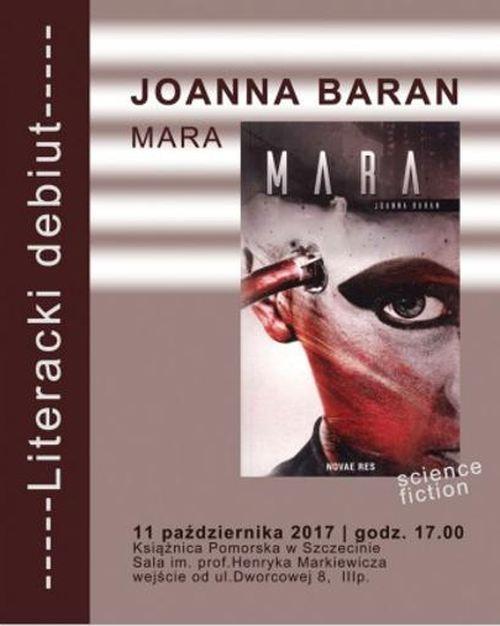 11.10.2017 spotkanie autorskie z Joanną Baran