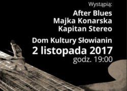 02.11.2017 Zaduszki Bluesowe, Szczecin, DK Słowianin