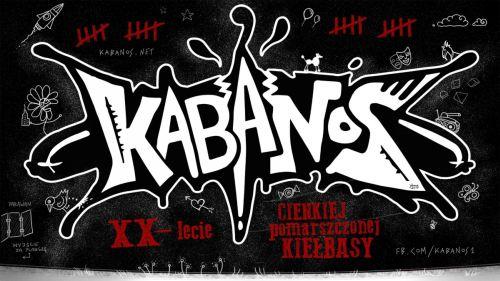 Kabanos XX lecie cienkiej pomarszczonek kiełbasy, koncert w Szczecinie