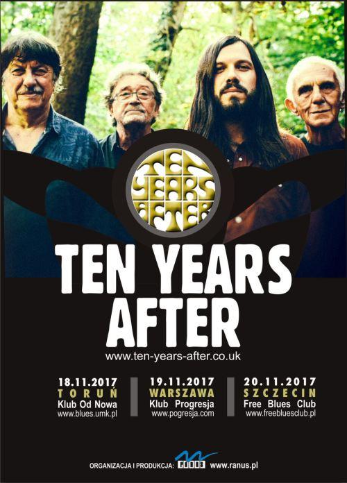 20.11.2017 Ten Years After, koncert w Szczecinie