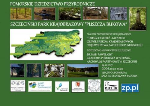 24.11.2017 spotkanie Szczeciński Park Krajobrazowy Puszcza Bukowa