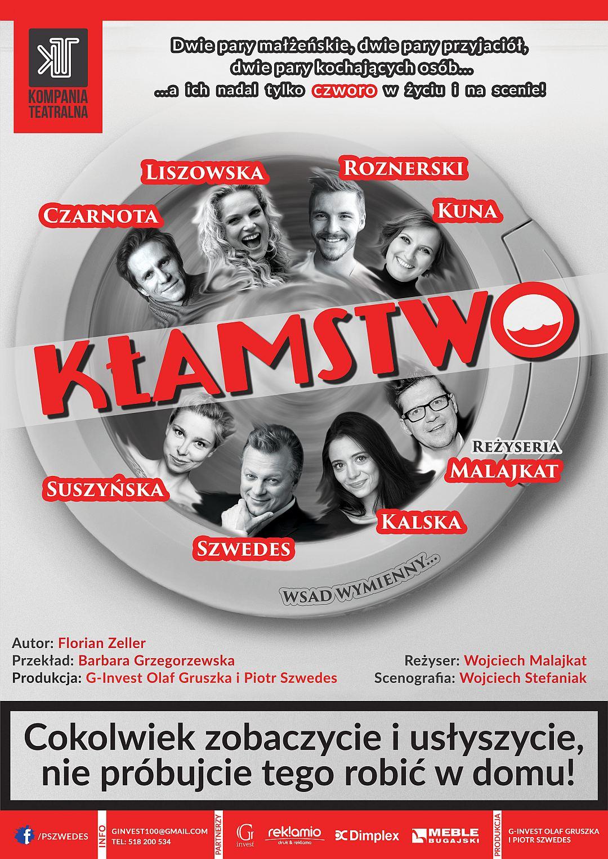 ARCHIWUM. POLECAMY! Szczecin. Spektakl. 28.01.2018. Kłamstwo @ Zamek Książąt Pomorskich