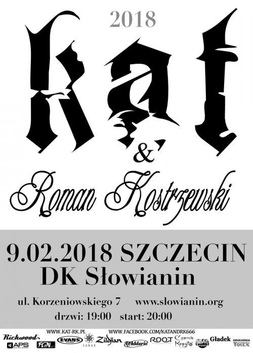 09.02.2018 Kat & Roman Kostrzewski, koncert w Szczecinie