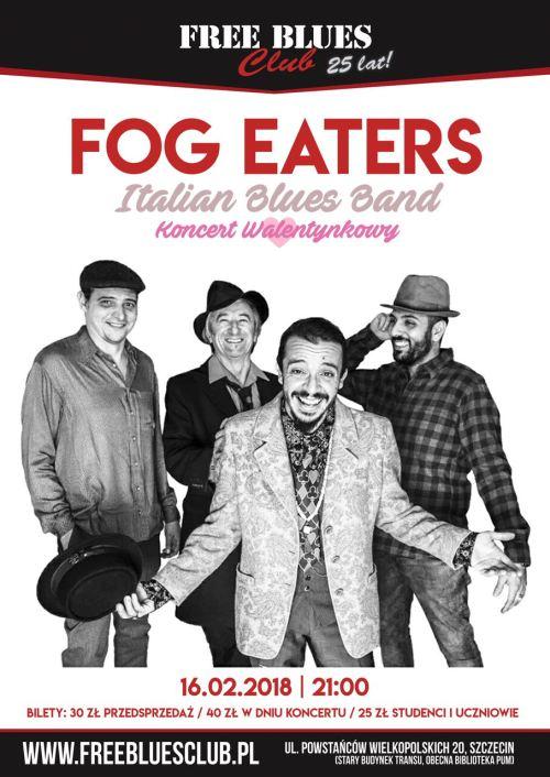 ARCHIWUM. Szczecin. Koncerty. ♪ 16.02.2018. Fog Eaters @ Free Blues Club