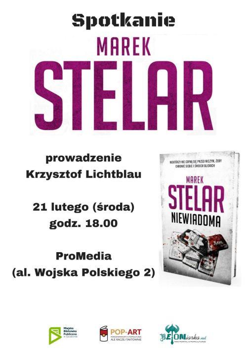 21.02.2018 Marek Stelar, spotkanie autorskie