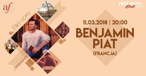 ARCHIWUM. Szczecin. Koncerty. 11.03.2018. Benjamin Piat @ Free Blues Club