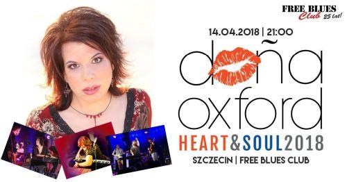 14.04.2018 Dona Oxford, koncert w Szczecinie