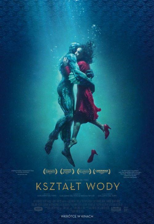 film Kształt wody, kino Szczecin