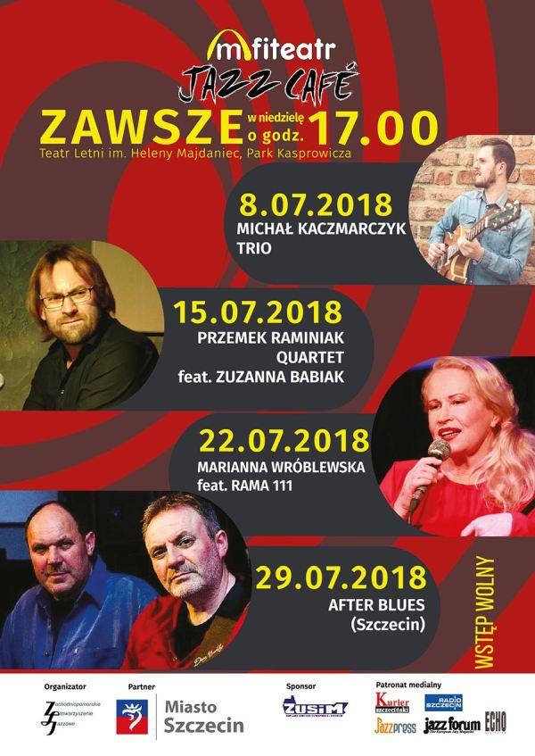 ARCHIWUM. Szczecin. Koncerty. 29.07.2018. Amfiteatr Jazz Café: After Blues @ Teatr Letni /Amfiteatr