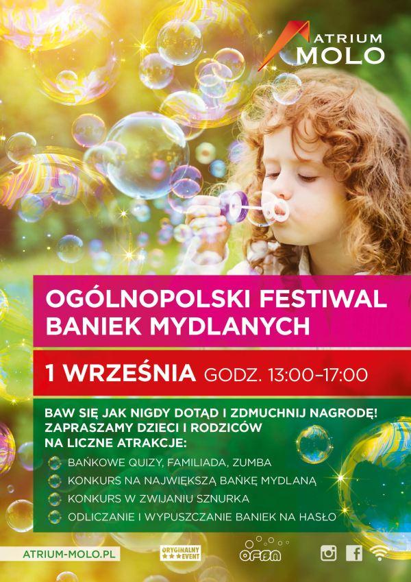 ARCHIWUM. Szczecin. Imprezy. Wydarzenia. 01.09.2018. Ogólnopolski Festiwal Baniek Mydlanych @ Galeria Atrium Molo