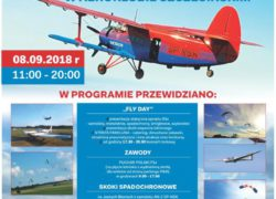 08.09.2018 Fly Day, dzień otwarty w aeroklubie szczecińskim