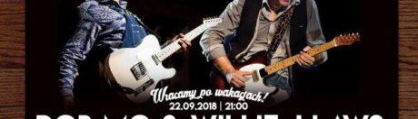 22.09.2018 Rob Mo & Willie J Laws, koncert w Szczecinie
