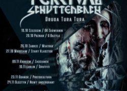 19.10.2018 koncert Percival Schuttenbach w Szczecinie
