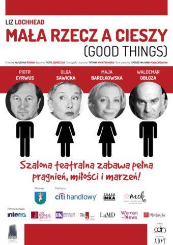 spektakl Mała rzecz a cieszy w Szczecinie