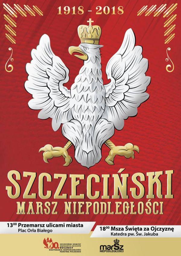 11.11.2018 Marsz Niepodległości, Szczecin 2018