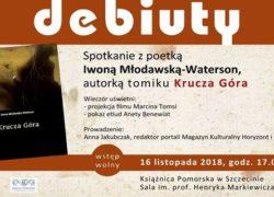 16.11.2018 spotkanie z Iwoną Młodawską-Waterson, Książnica Pomorska