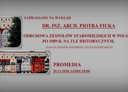 29.11.2018 odbudowa zespołów staromiejskich w Polsce po 1989