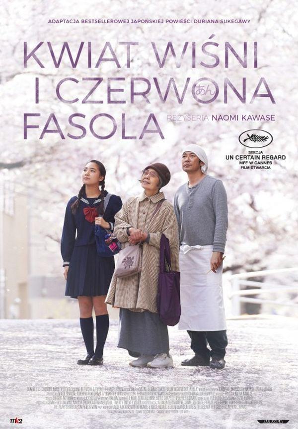 film Kwiat wiśni i czerwona fasola, kino Szczecin