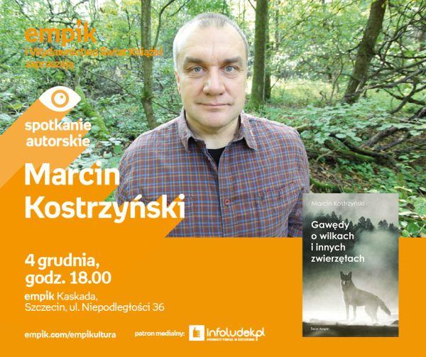 04.12.2018 spotkanie autorskie z Marcinem Kostrzyńskim