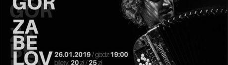 26.01.2019 Yegor Zabelov, koncert w Szczecinie