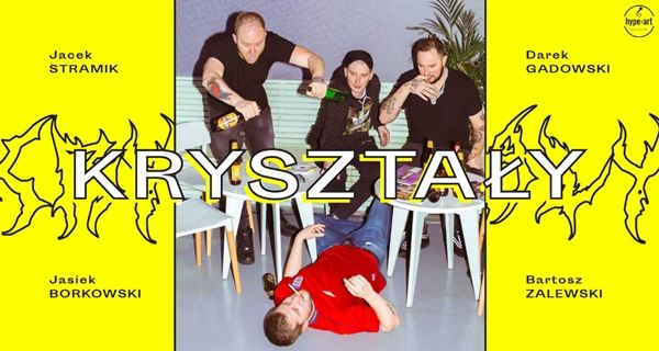 ARCHIWUM. Szczecin. Wydarzenia. 31.01.2019. Stand-Up w Hormonie: Kryształy @ Hormon