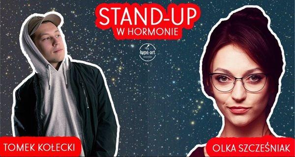 ARCHIWUM. Szczecin. Wydarzenia. 17.01.2019. Stand-Up w Hormonie: Olka Szczęśniak & Tomek Kołecki  @ Hormon