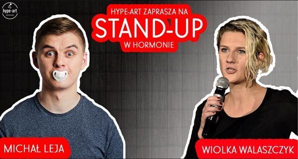 ARCHIWUM. Szczecin. Wydarzenia. 07.03.2019. Stand-Up w Hormonie: Michał Leja & Wiolka Walaszczyk @ Hormon