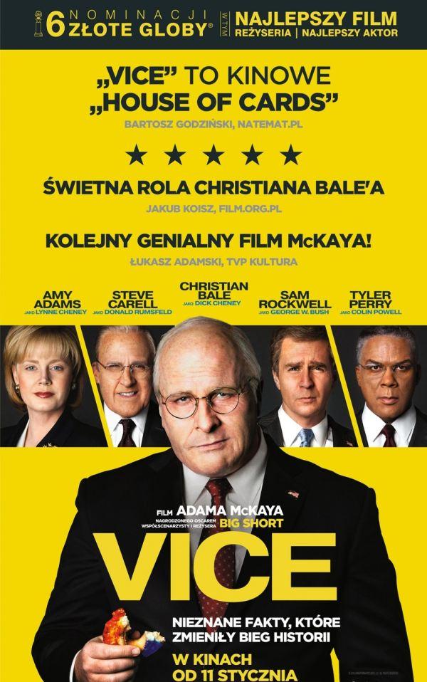 ARCHIWUM. Szczecin. Kino. 15-17.02.2019. Kino Zamek: Vice @ Zamek Książąt Pomorskich