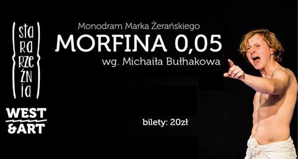 spektakl Morrfina 0,05 w Szczecinie