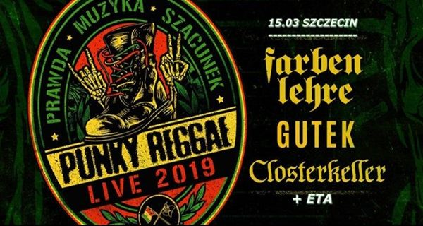 ARCHIWUM. Szczecin. Koncerty. 15.03.2019. PUNKY REGGAE live 2019 @ Peron 5