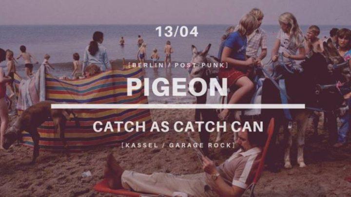 ARCHIWUM. Szczecin. Koncerty. 13.04.2019. Pigeon + Catch As Catch Can @ Domek Grabarza