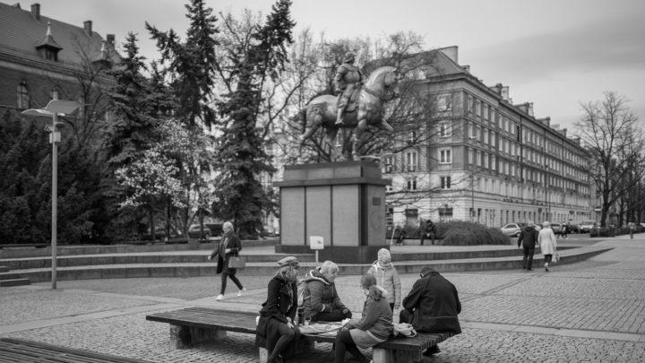 Szczecin. Pomniki. Rzeźby. Pomnik Bartolomeo Colleoniego @ Plac Lotników