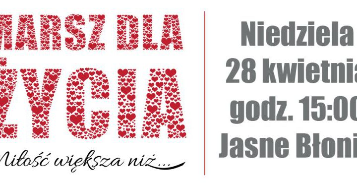 ARCHIWUM. Szczecin. Wydarzenia. 28.04.2019. Marsz dla Życia 2019 w Szczecinie @ Jasne Błonia