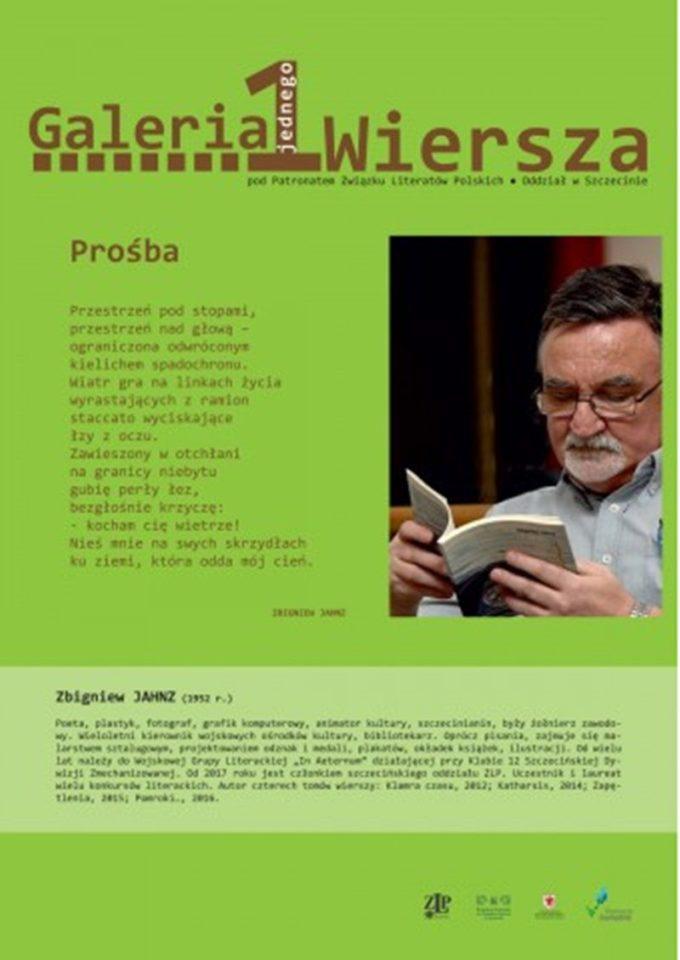 Zbigniew Jahnz, spotkanie autorskie
