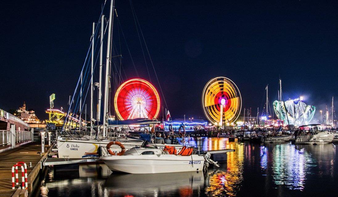 Szczecin. Atrakcje. Największy w Polsce Diabelski Młyn – Wheel of Szczecin na Łasztowni