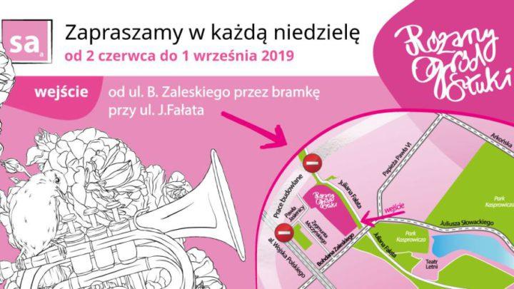 ARCHIWUM. Szczecin. Imprezy. 18.08.2019. Różany Ogród Sztuki @ Ogród Różany w Szczecinie