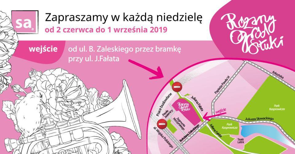 Różany Ogród Sztuki, Szczecin 2019