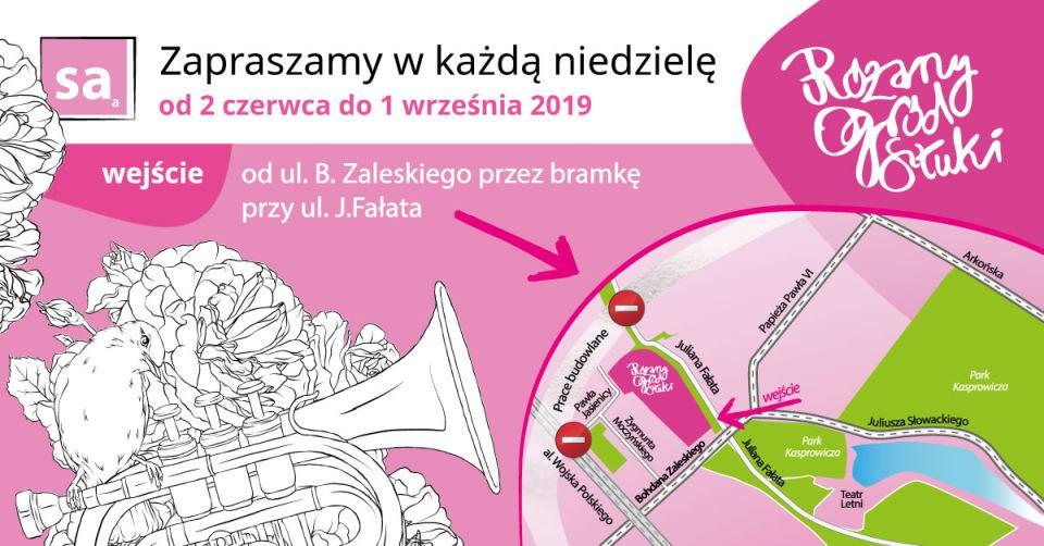 ARCHIWUM. Szczecin. Imprezy. 11.08.2019. Różany Ogród Sztuki @ Ogród Różany w Szczecinie